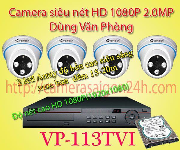 Lắp đặt camera quan sát giá rẻ camera quan sát Full HD 1080P Trong nhà