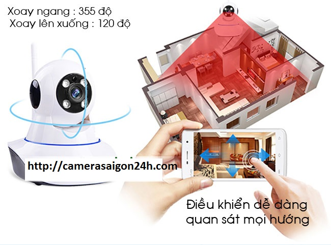 camera quan sát wifi , camera ip wifi