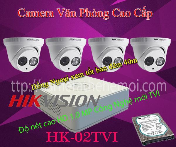 Bộ 4 camera quan sát văn phòng cao cấp,thương hiệu chất lượng của thế giới.