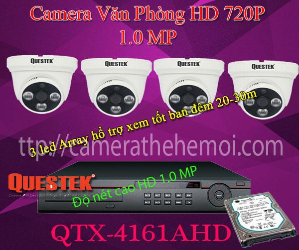 hệ thống camera quan sát giá rẻ Camera Giám Sát Gia Đình  Bộ camera quan sát cho giađình chất lượng HD 720P 1.0MP trọn gói bao gồm công lắpđặt